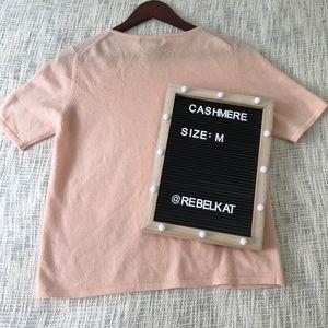 Sutton Studio Tops - Cashmere Size Medium Sutton Studio Blush Pink